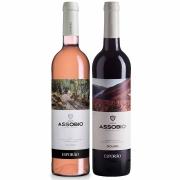 Kit 2x Vinho Português Rose + Tinto Esporão Assobio 2019