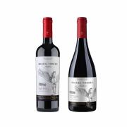 Kit 2x Vinho Tinto Chileno Orgânico Miguel Torres Cabernet Sauvignon e Pinot Noir 2019