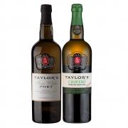 Kit 2x Vinhos do Porto Taylor's White/Chip Dry