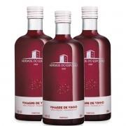 Kit 3 Vinagres de Vinho Português Esporão Acidez 7% 500ml