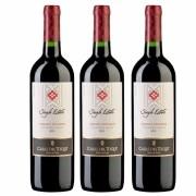 Kit 3 Vinhos Chileno Casas Del Toqui Cabernet Sauvignon
