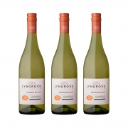 Kit 3x Vinho Branco Africano Lyngrove Collection Chenin Blanc 750ml 2020