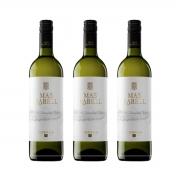 Kit 3x Vinho Branco Espanhol Torres Mas Rabell Parellada Garnacha Blanca 750ml 2019