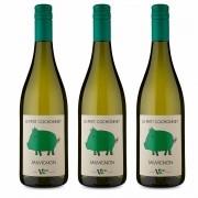 Kit 3x Vinho Branco Francês Cochonnet Sauvignon Blanc 2018