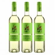 Kit 3x Vinho Branco Verde Português Ciconia 750ml