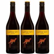 Kit 3x Vinho Tinto Australiano Yellow Tail Shiraz 2019 750ml