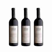 Kit 3x Vinho Tinto Brasileiro Miolo Reserva Tannat 2015 750ml