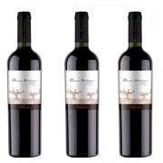 Kit 3x Vinho Tinto Chileno Alma Tierra Carignan 2018