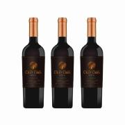 Kit 3x Vinho Tinto Chileno Old Oak Special Reserve Cabernet Sauvignon 2018