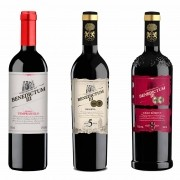 Kit 3x Vinho Tinto Espanhol Benedictum III Tempranillo, Reserva 5 e 8 Anos 750ml