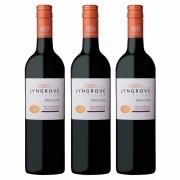 Kit 3x Vinho Tinto Sul-africano Lyngrove Pinotage 2018 750ml