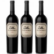 Kit 3x Vinhos Argentino Tinto El Enemigo Malbec 2016 Catena Zapata
