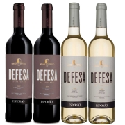 Kit 4 Vinho Branco/Tinto Português Defesa do Esporão 2018