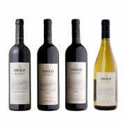 Kit 4x Vinho Brasileiro Tinto Miolo Reserva Cabernet Sauvignon, Merlot, Chardonnay e Tannat 750ml