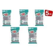 Kit 5x Esponja Multiuso Poliester Soft Flash Limp