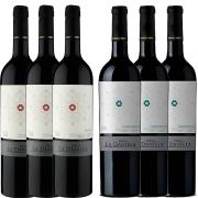 Kit 6 Vinho Tinto Argentino Finca La Daniela Tempranillo/Malbec