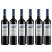 Kit 6 Vinhos Tintos Português Quinta De Bons Ventos 2018 750 ml