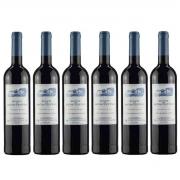 Kit 6 Vinhos Tintos Português Quinta De Bons Ventos 2019 750 ml