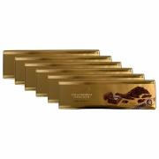 Kit 6x Chocolate Lindt Gold Bar Dark (Meio Amargo) 300g