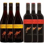 Kit 6x Vinho Australiano Yellow Tail Shiraz/Cabernet 2019