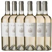 Kit 6x Vinho Branco Argentino Las Perdices Pinot Grigio 2020