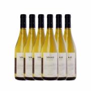 Kit 6x Vinho Branco Brasileiro Miolo Reserva Chardonnay 2017 750ml