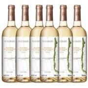 Kit 6x Vinho Branco Chileno Baron Philippe de Rothschild Reserv Chardonnay 2018 750ml