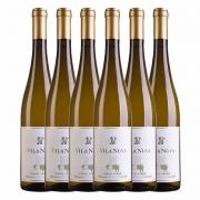 Kit 6x Vinho Branco Português Vila Nova Vinho Verde Blend 2019 750ml