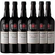 Kit 6x Vinho do Porto Tinto Ruby e Tawny Taylor's Português