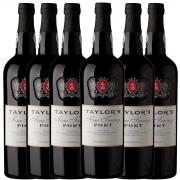 Kit 6x Vinho do Porto Tinto Tawny Taylor's Português