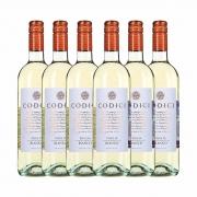 Kit 6x Vinho Italiano Branco Codici Bianco Puglia IGT