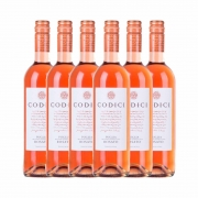 Kit 6x Vinho Italiano Rosé Codici Rosato Puglia IGT