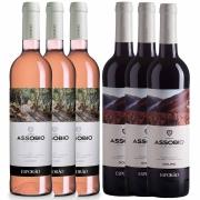 Kit 6x Vinho Português Rose + Tinto Esporão Assobio 2019