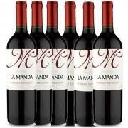 Kit 6x Vinho Tinto Chileno La Manda Cabernet Sauvignon 2019