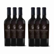 Kit 6x Vinho Tinto Chileno Old Oak Gran Reserve Cabernet Sauvignon/Carmenere 2018