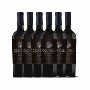 Kit 6x Vinho Tinto Chileno Old Oak Gran Reserve Carmenere 2018