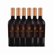 Kit 6x Vinho Tinto Chileno Old Oak Special Reserve Carmenere 2018