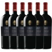 Kit 6x Vinho Tinto Chileno Ventisquero Grey Special Edition Cabernet Sauvignon 2014 750ml