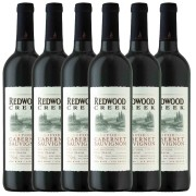 Kit 6x Vinho Tinto Estadunidense Redwood Creek Cabernet Sauvignon 2019 750ml