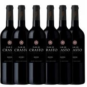 Kit 6x Vinho Tinto Português Flor de Crasto Douro 2019 750ml