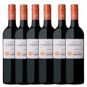 Kit 6x Vinho Tinto Sul-africano Lyngrove Pinotage 2018 750ml