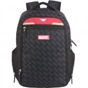 Mochila Escolar Dermiwil Preta Marvel Iron Man 11469 PR