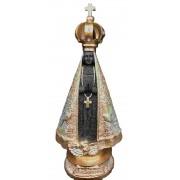 Nossa Senhora Aparecida Negra/Dourada 22cm RB22785-2
