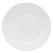 Prato Sobremesa 18,5cm Bar/Hotel Porcelana Branca Germer
