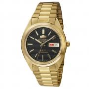 Relógio Automático Masculino Dourado Orient 469WC2F P1KX