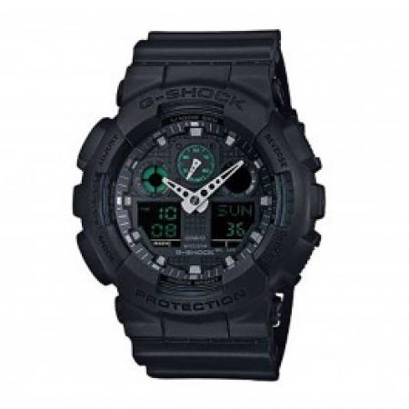 Relógio Casio G-Shock Anadigi Masculino GA-100MB-1ADR