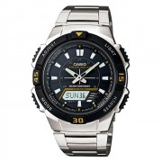 Relógio Casio Standard Tough Solar Anadigi Masculino AQ-S800WD-1EVDF