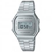 Relógio Casio VIntage Digital Unissex A168WEM-7DF-BR