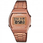 Relógio Casio Vintage Gold Digital Feminino B640WC-5ADF
