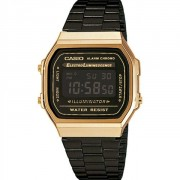 Relógio Casio Vintage Gold Digital Unissex A168WEGB-1BDF-BR